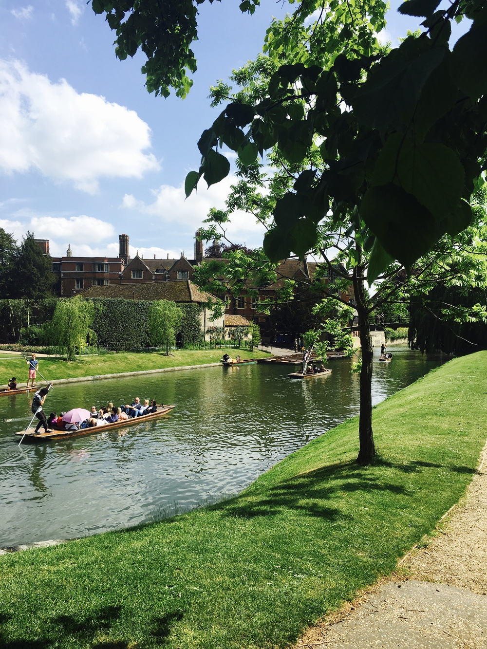 Gondola Ride - Cambridge