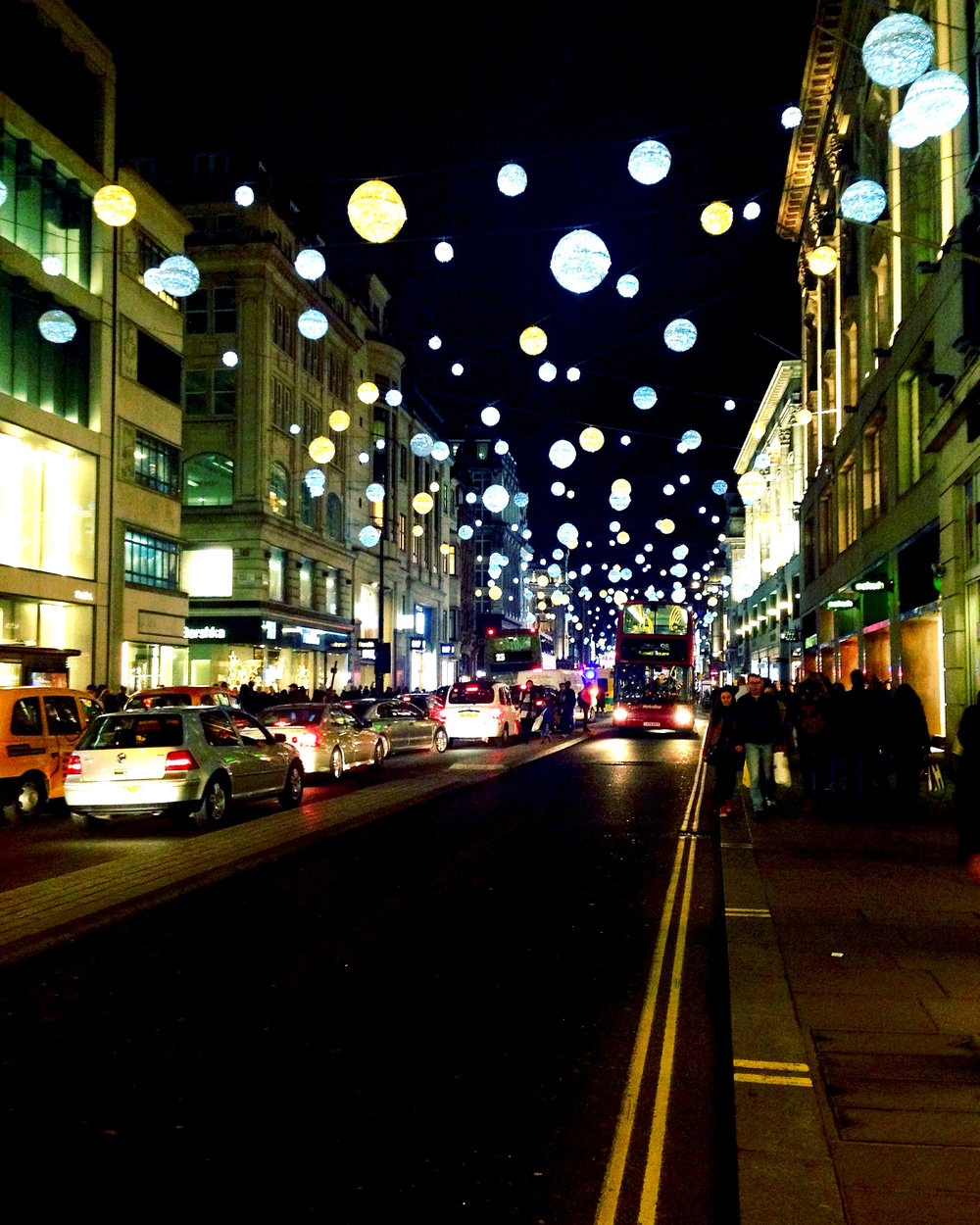 Christmas on Oxford Street