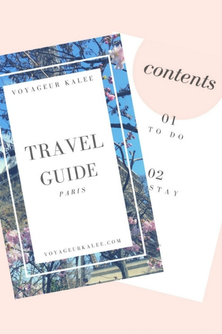 Travel Guide to Paris
