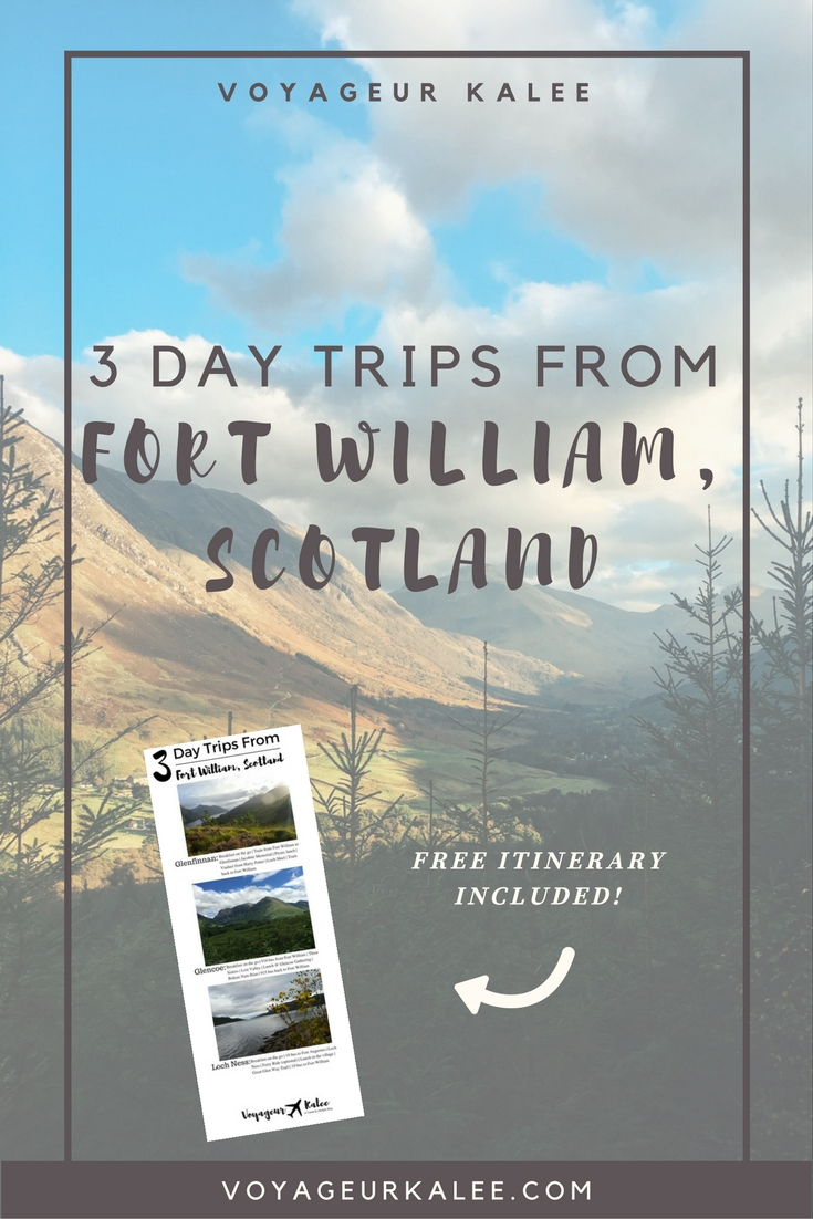 3 Day Trips from Fort William, Scotland