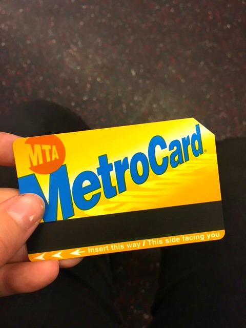 NYC Metro Card