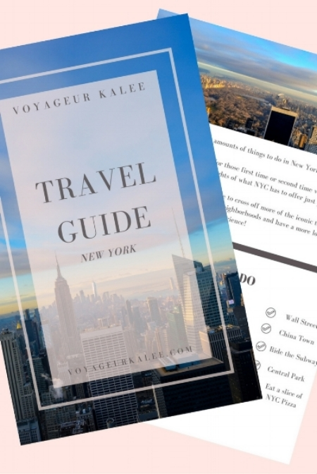 Travel Guide NYC