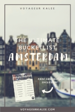 Ultimate Amsterdam Bucket List