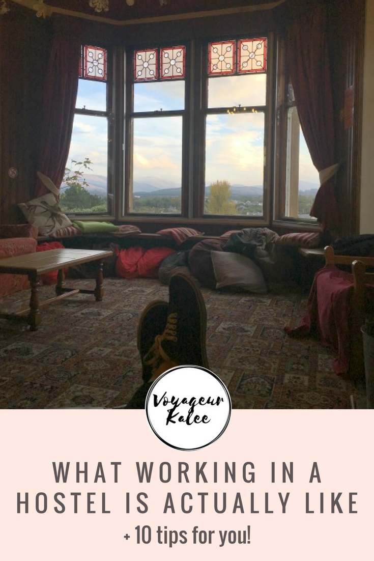 What it's really like working in a hostel +10 Tips for You!