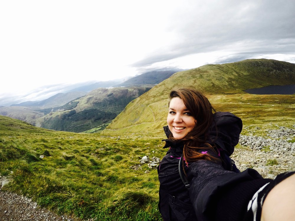 This is me hiking Ben Nevis with a large/waterproof jacket, a sweater, a long sleeve shirt, two sets of leggings and thermal socks/hiking boots AND I still froze. It was September.