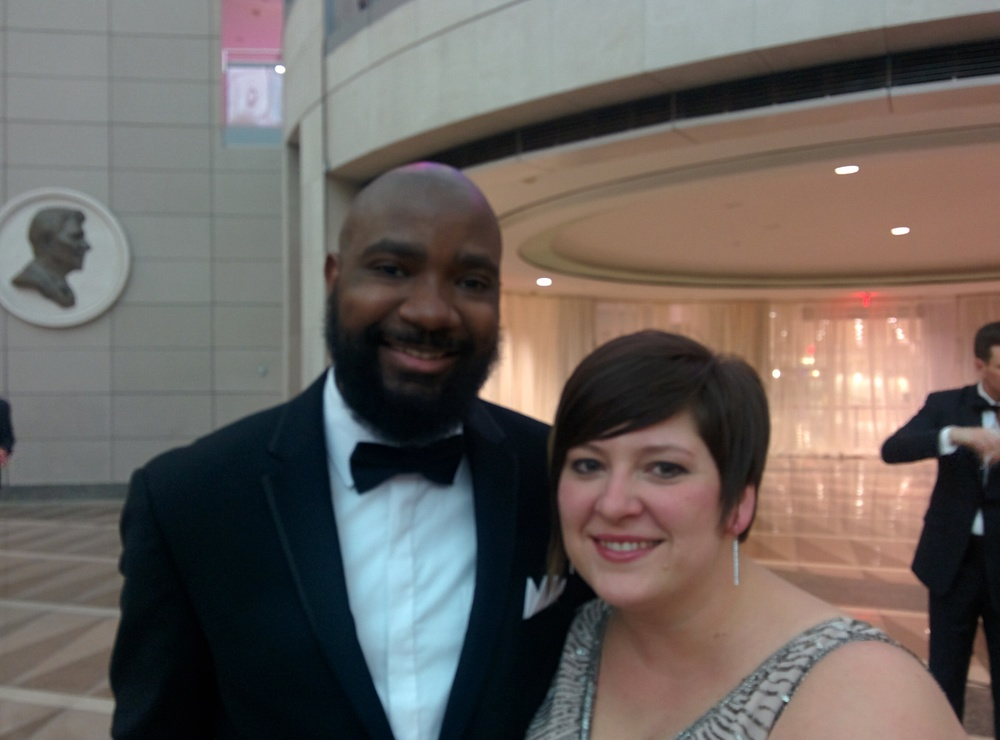 With Mrs. Bowling, NBCT, at the Gala