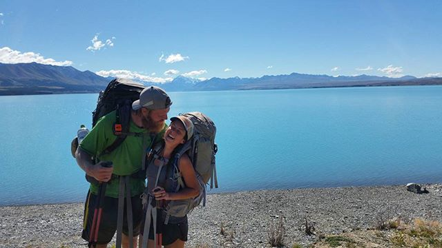 We have completed the beautiful section from Tekapo to Wanaka! It was filled with magnificent lakes, stunning views of Mt. Cook, and walking above the clouds. Read more on our blog! We are soaking in every last moment of the #TeAraroa