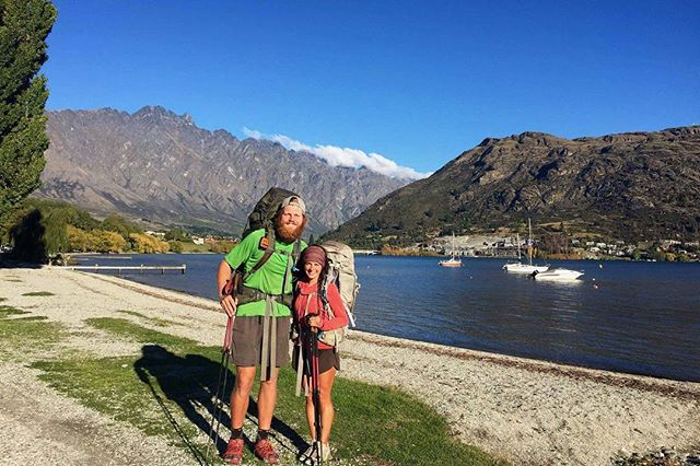 Our last section included memorable climbs, walks through tussock terrain, and trail magic (thanks John & Jen)! We made it to Queenstown and are now on the home stretch. We have about 10 days left on the trail and are one step closer to Bluff! #TeAraroa