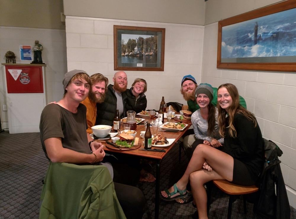 Reyne, Tyler, Alex, Alex, Jer, Me, and Bekah celebrating good times, c'mon!