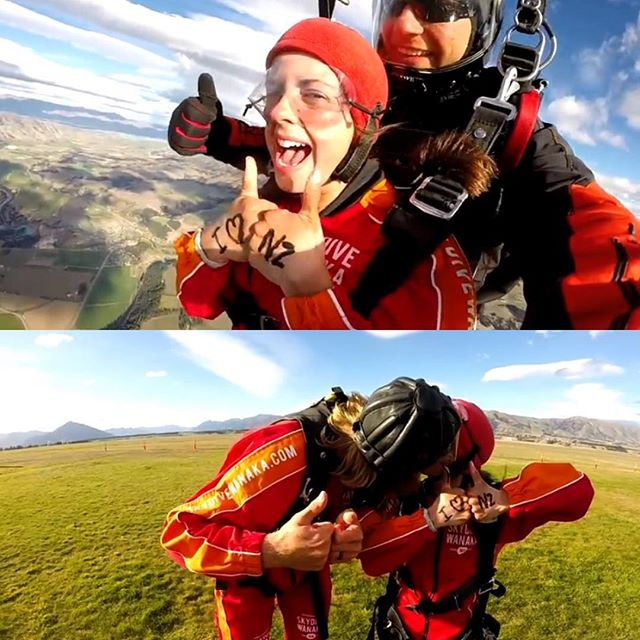 In honor of Uncle Jim and to celebrate our completion of the Te Araroa, Jer and I went SKYDIVING in Wanaka!!!! We had EPIC views of Mt. Cook and the Southern Alps. Literally could not think of a better way to celebrate! • Miss you always Jimbo-- I cherish my memories of skydiving with you!