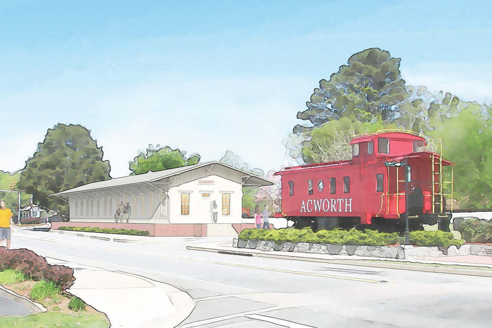 Acworth Depot Design Plan