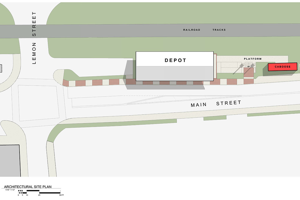 Acworth Depot Site Plan