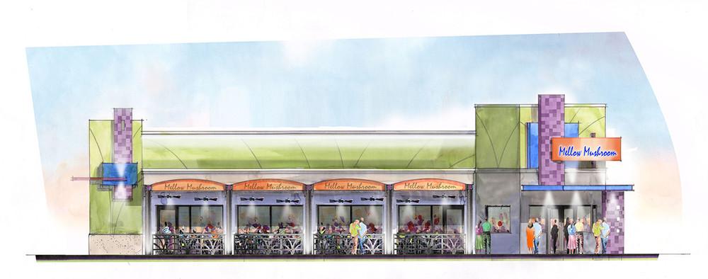 Burlington Carousel Rendering