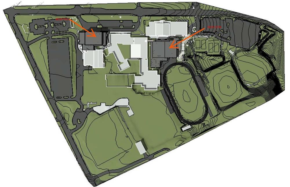 North Cobb High School Aerial Renderings Croft Architects Engineers – Site Plan Renderings