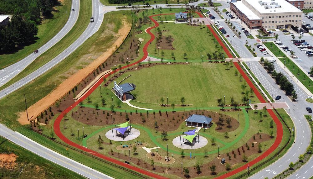 Veterans Memorial Park Croft Architects Engineers