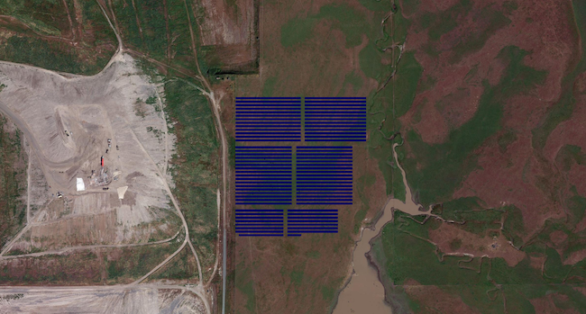 San Joaquin County Landfill - 5 MW Ground Mount PV Design