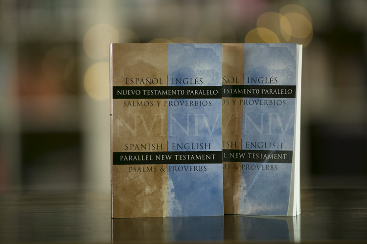 niv spanish english parallel new testament psalms and proverbs paperback