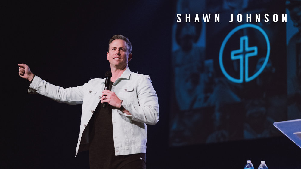 It was great to have Shawn Johnson from Redrocks Church in Denver sharing his heart with us this weekend.