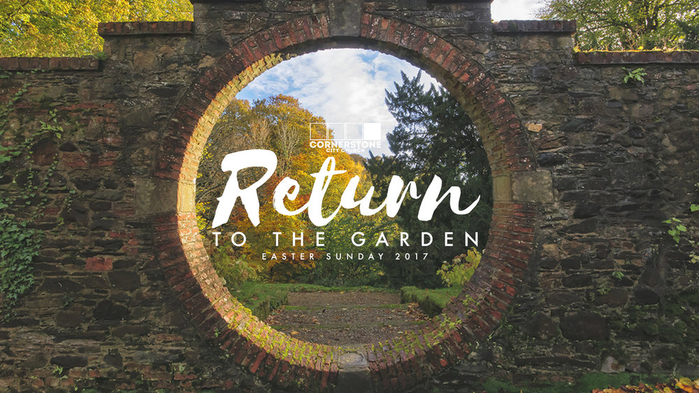 The second part of our Easter series looks at how Jesus' death has enabled us to return to God's original plan for us in the Garden of Eden.