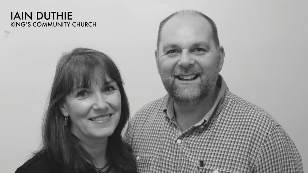 We had the pleasure of having Pastor Iain Duthie visiting with us from King's Community Church, Aberdeen.