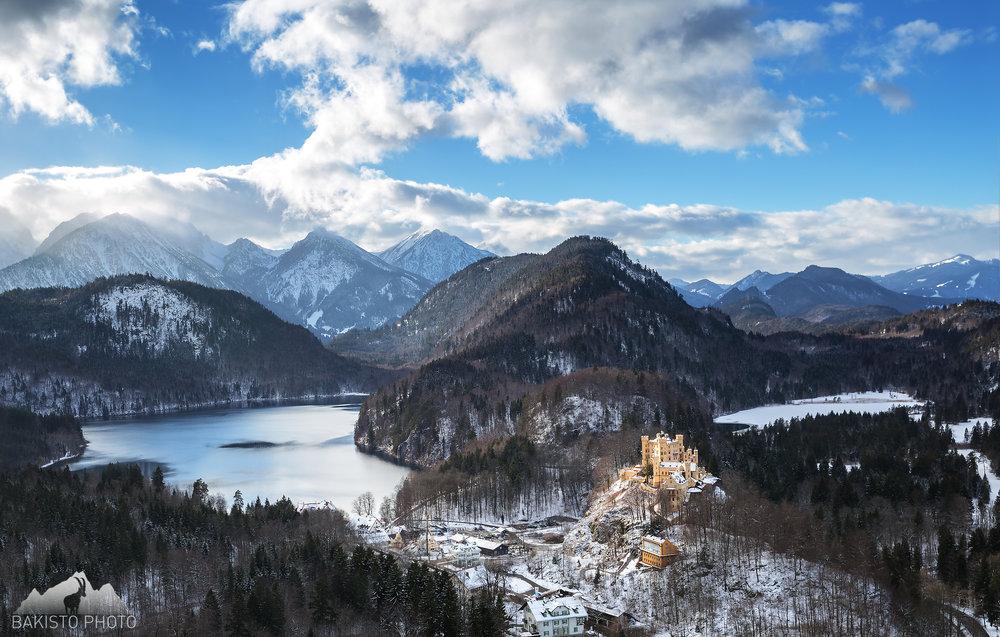 Hohenschwangau_Germany_Bavarian_Alps_Bakisto