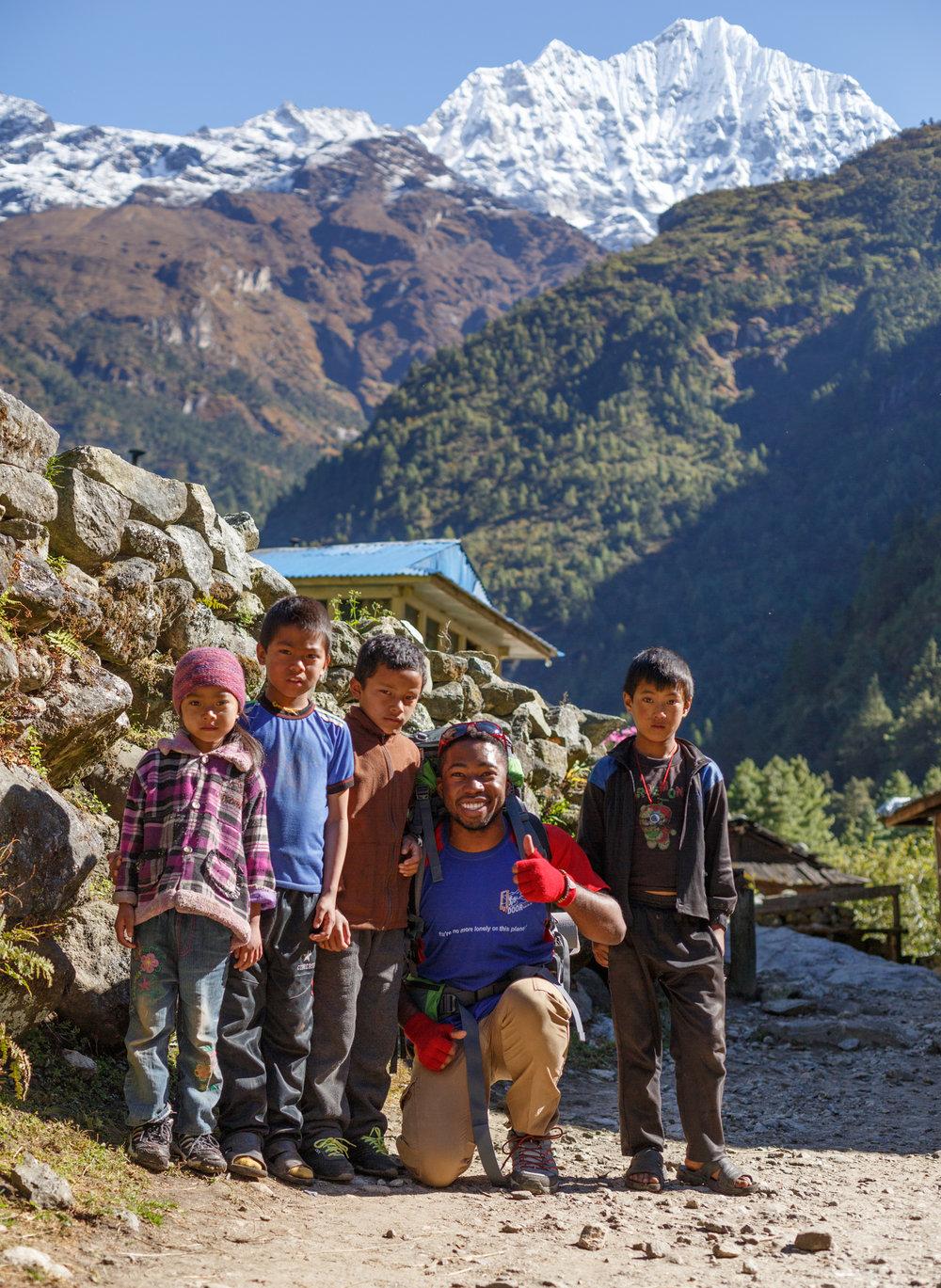 Doug in Nepal