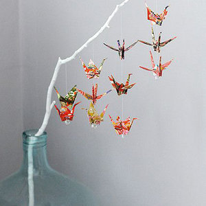 The Bird Challenge Origami Backdrop DIYMarshelle Coyle