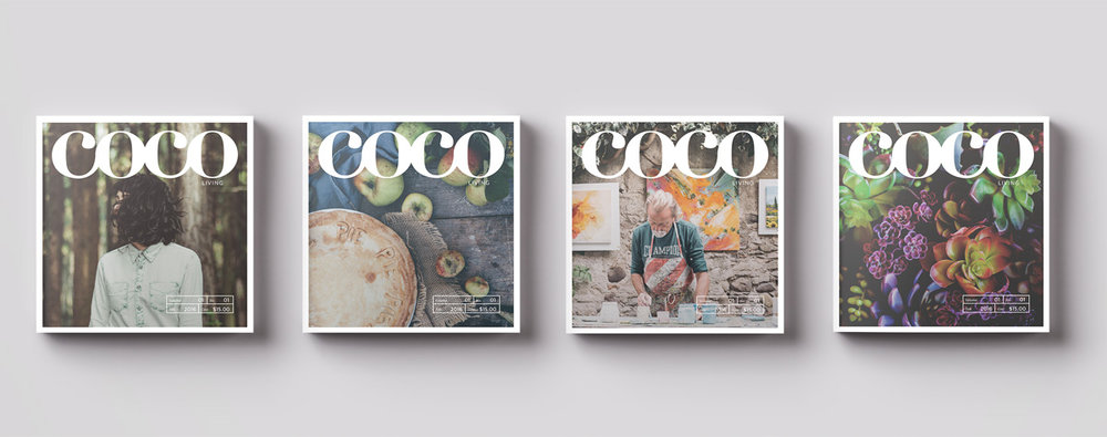 Branding and Creative Concepts:  Coco Living Magazine / Morris Communications