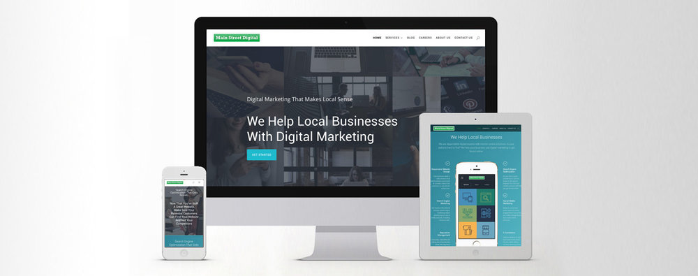 Wordpress Design and Development: Main Street Digital