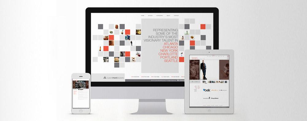 Website Design: RR Donnelley