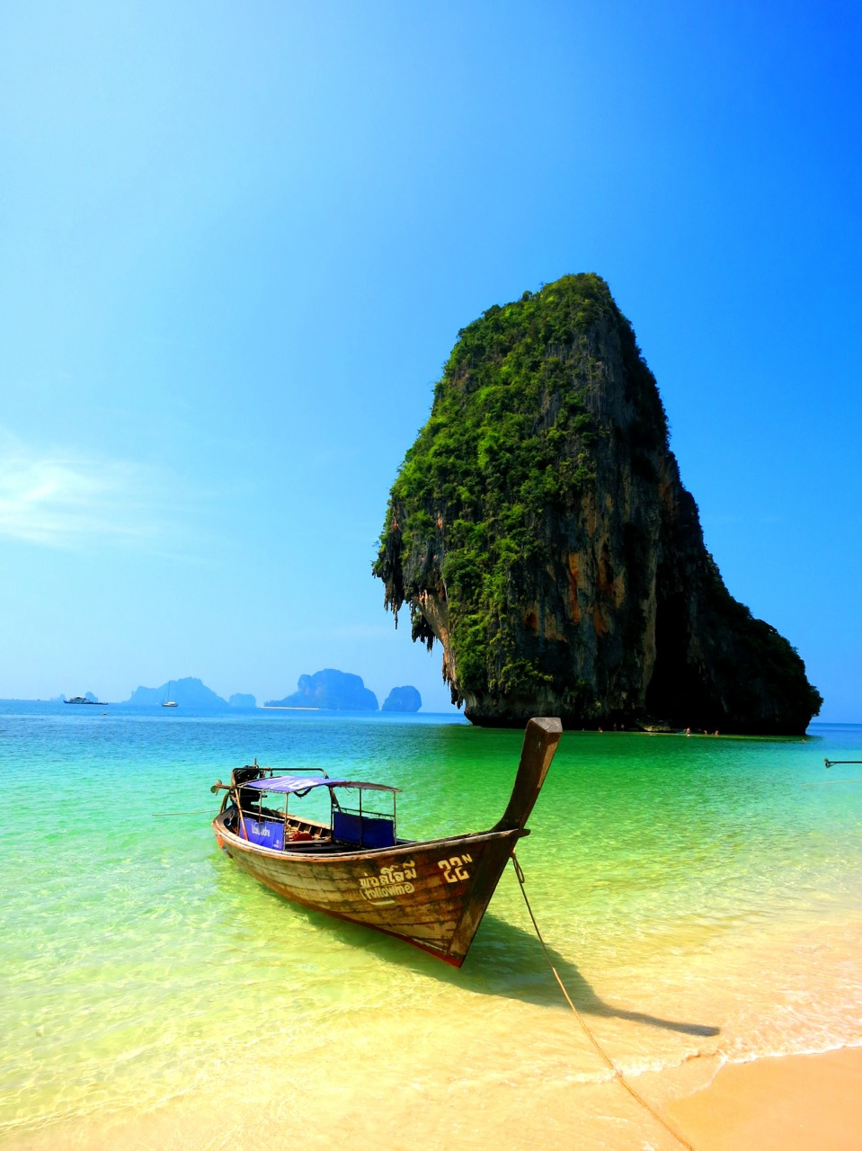 Phra Nang beach, Krabi.