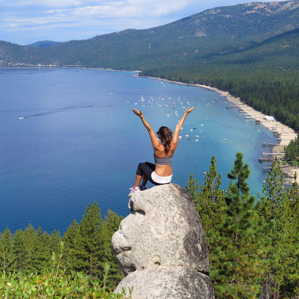Hike to Monkey Rock in Lake Tahoe