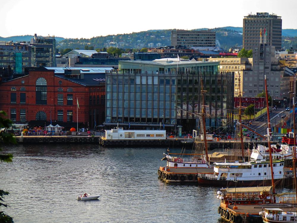 Aker Brygge in Oslo, Norway