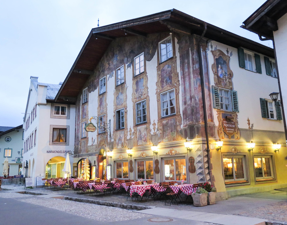 Our cozy hotel for the evening. Hotel Alpenrose