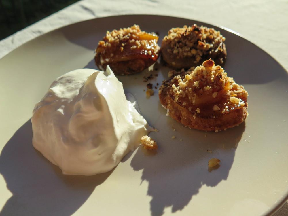 Dessert - Pear tarts