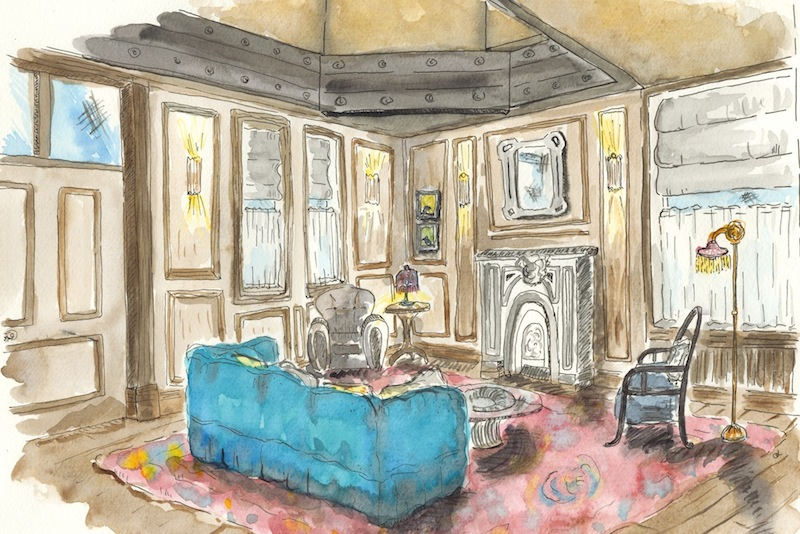 The Turret Suite - The Beekman Hotel © Anouk Colantoni