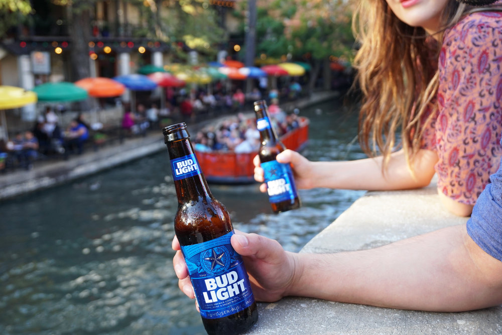 Bud Light:  Brewed Deep In The Heart Influencer Amplification & Content Program