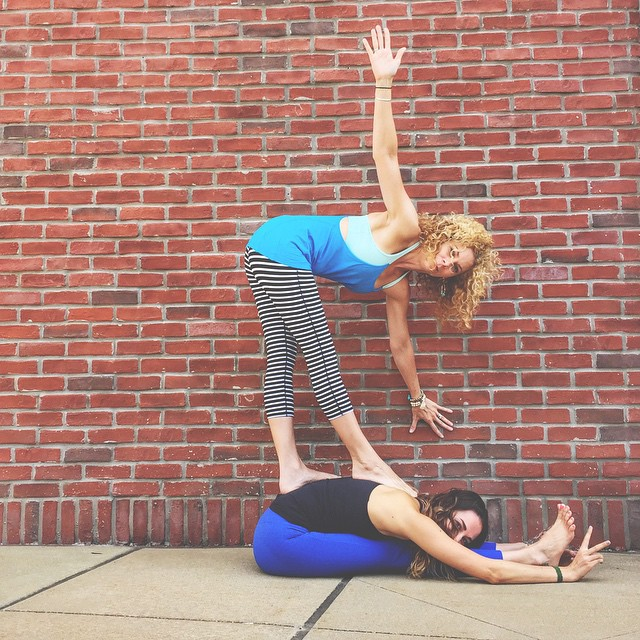 Sam and I are getting so pumped for our trip to Hanuman Festival in Boulder, CO next week! Follow us on our journey on Instagram! @elliebernsteinyoga @samanthaeiblingyoga