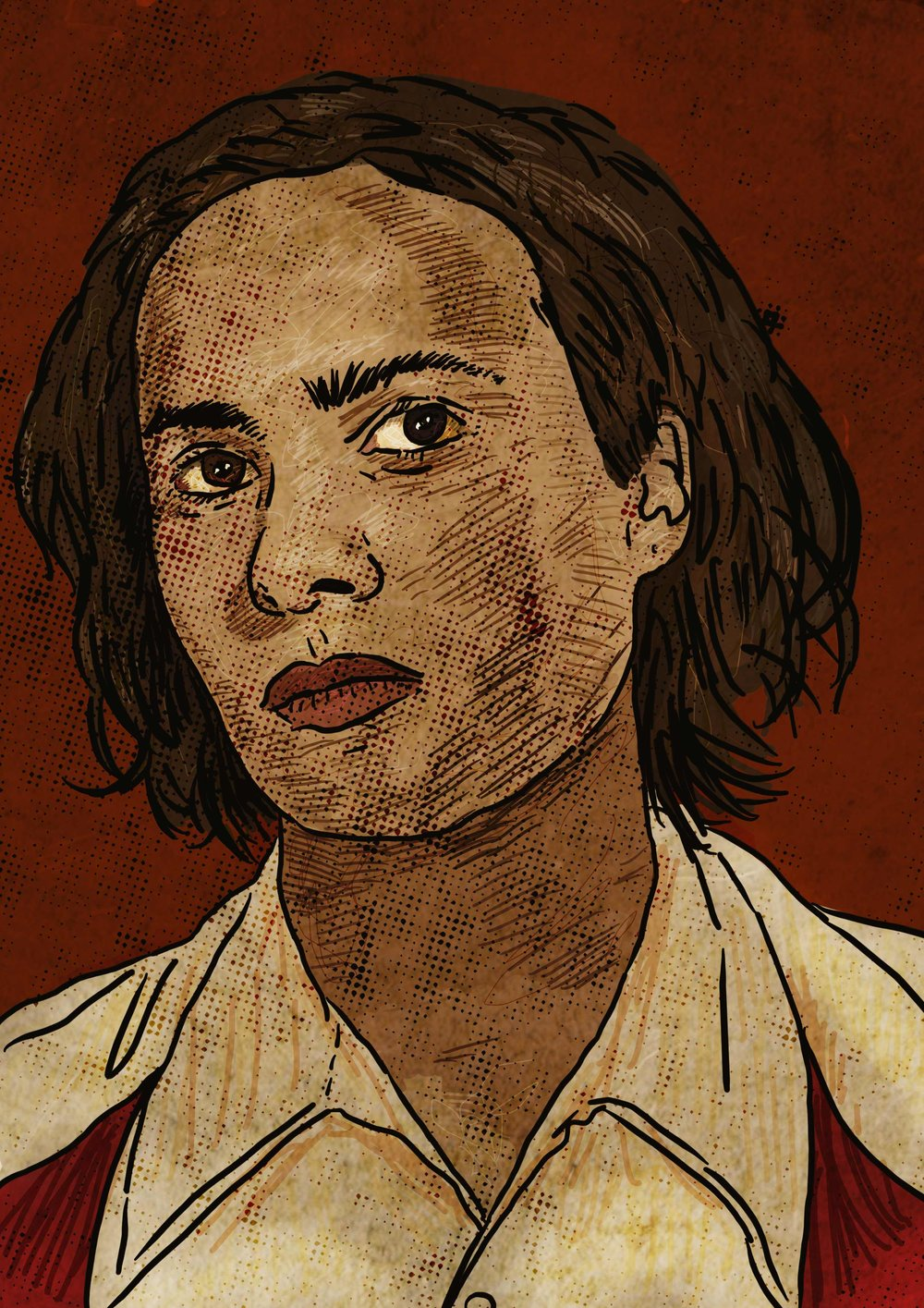 Nick Clark / Frank Dillane   - Interested in purchasing an art print? Visit my  shop .