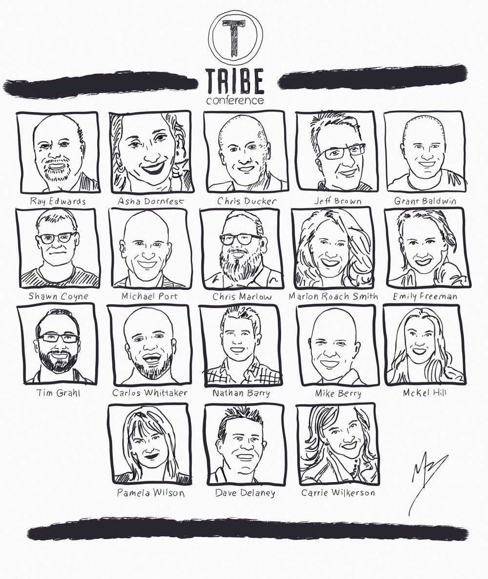 Tribe Conference Speaker Line up