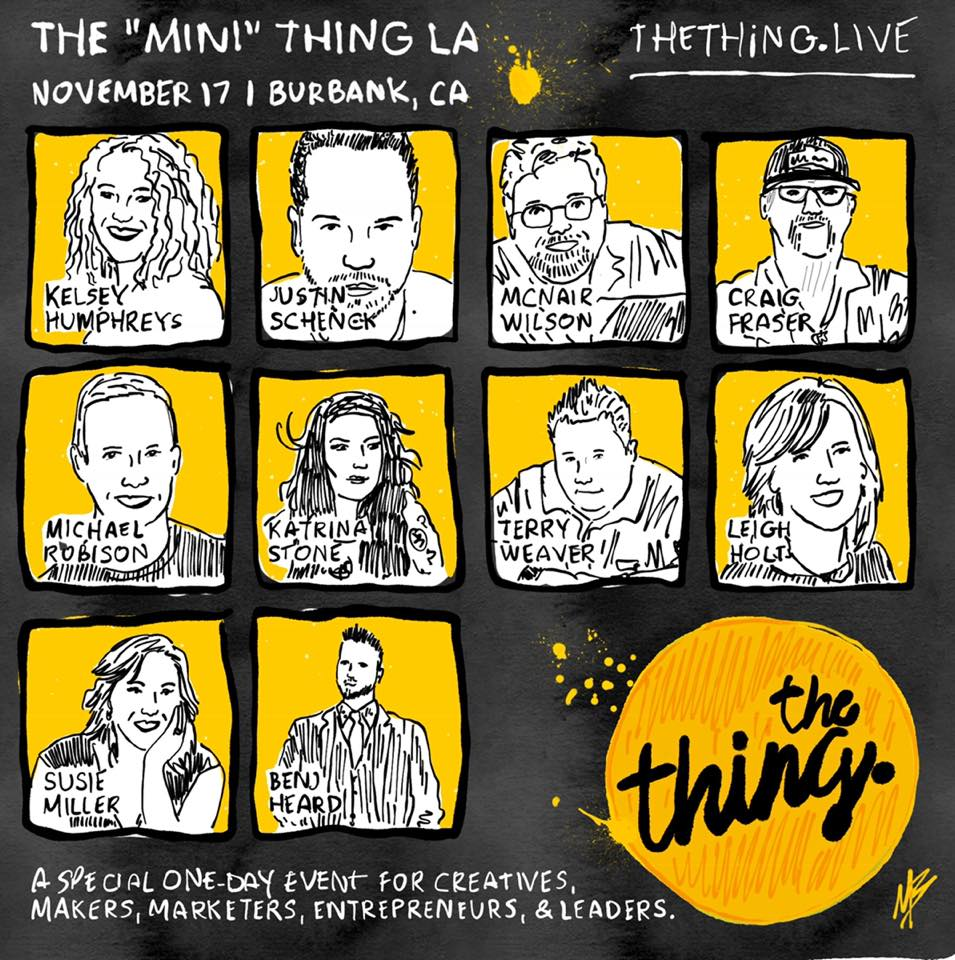 Speaker line up for The Thing Live LA