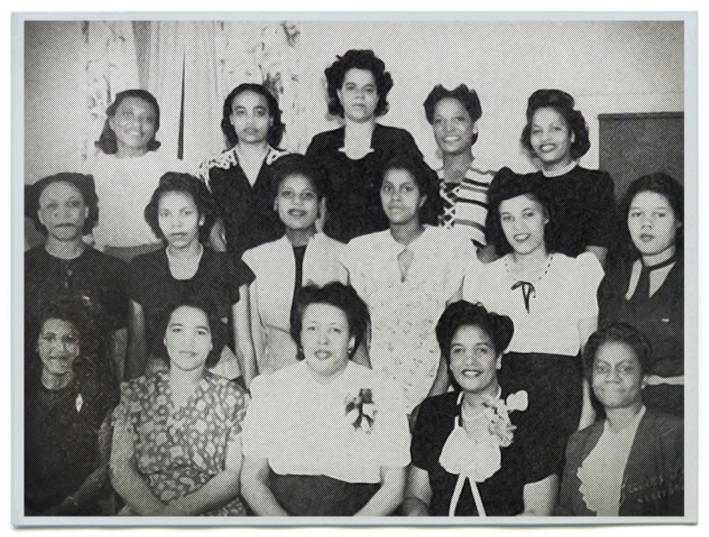 Charter Members of the Hartford Alumnae Chapter - 1947