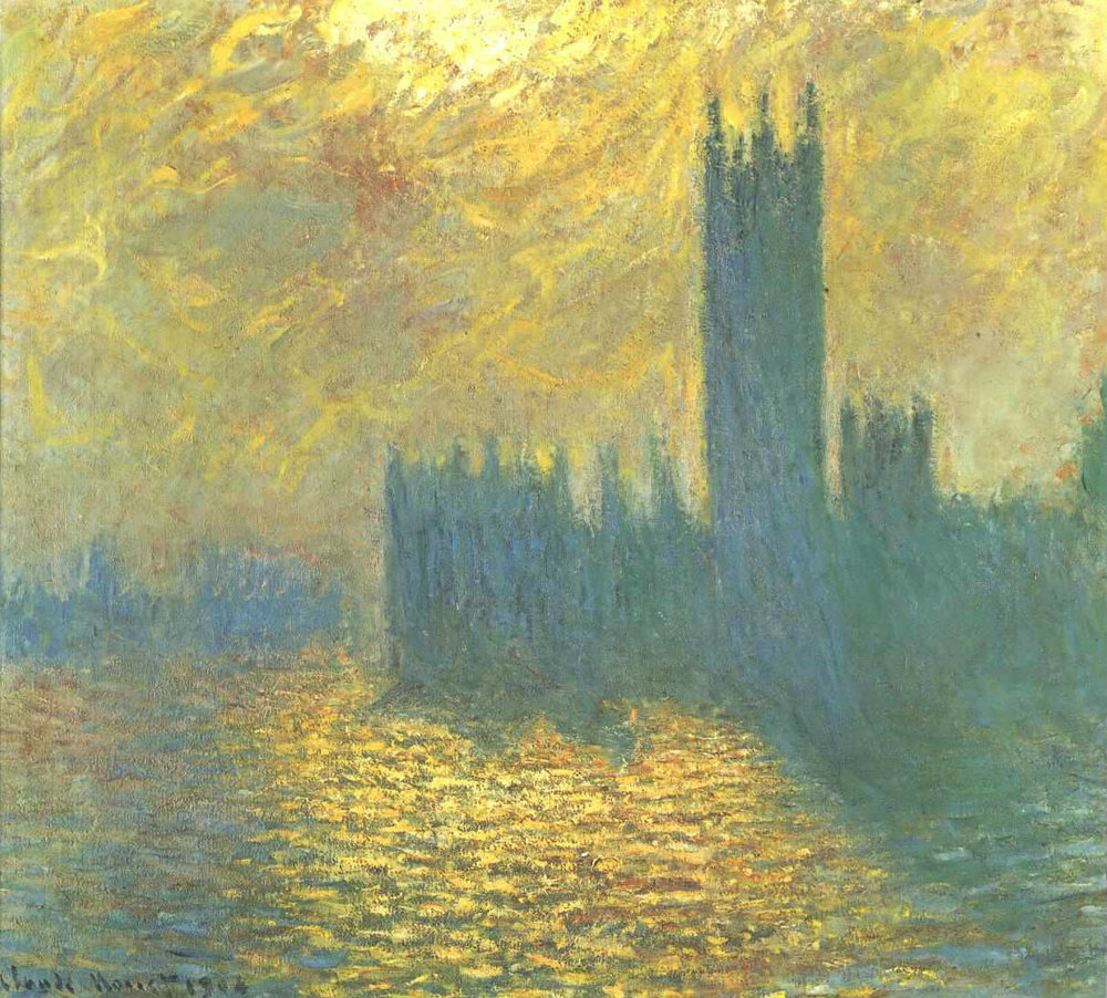 Monet - Houses of Parliament (Stormy Day)