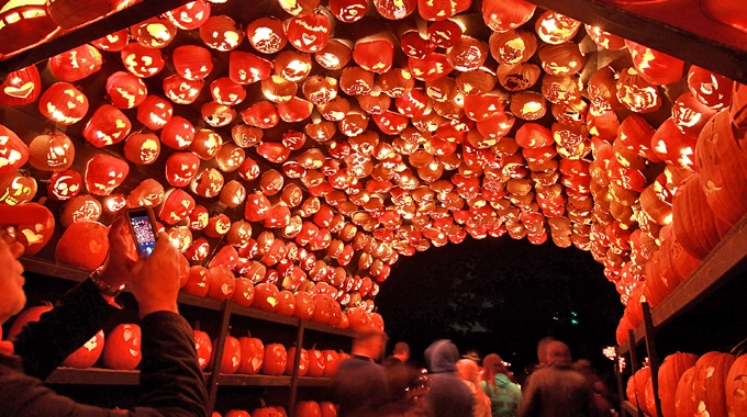 The Great Jack O'Lantern Blaze in Croton-on-Hudson