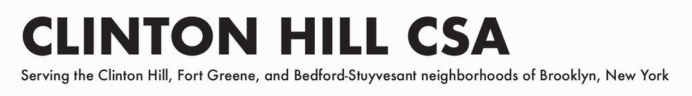Bed Stuy — Blog — Clinton Hill CSA