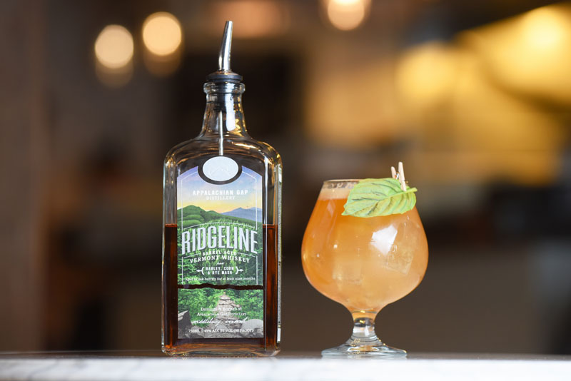 App Gap Distillery's Ridgeline Whiskey