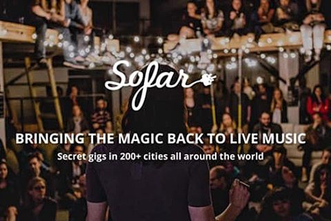 We're playing @sofarnyc TONIGHT at a secret location in New York City. For a chance to attend, re-tweet and signup at sofarsounds.com/nyc