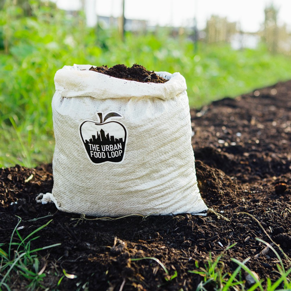 4. get compost - Every Spring and Fall you will be notified when your compost share is ready for delivery. You can have it delivered to your home or donated to one of our local community garden partners.