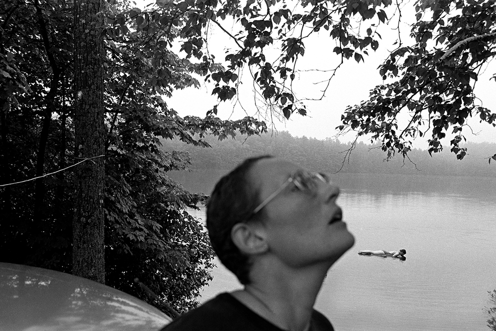 Adams Lake  South Bridgton, ME.  1979