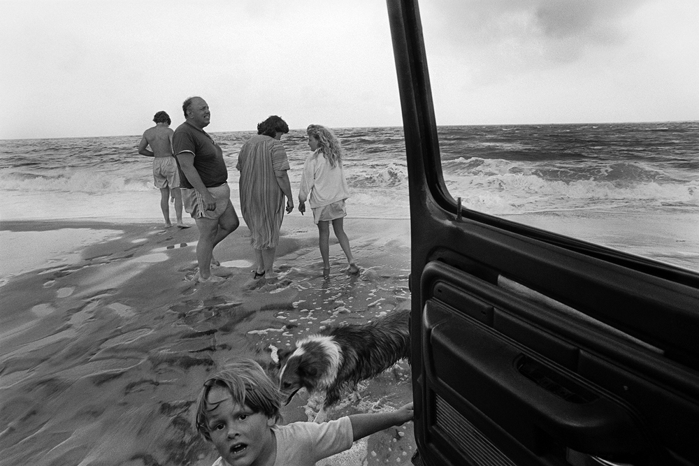 The Forans on vacation  Cape Hatteras, NC.  1990